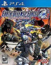 EARTH DEFENSE FORCE 4.1 THE SHADOW OF NEW DESPAIR...PS4...SEALED BRAND NEW**