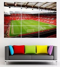 Manchester United Old Trafford Football Stadium giant section poster 126cmx89cm