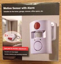 Motion Sensor With Alarm