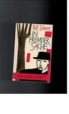 Rolf Schroers - In fremder Sache - 1960