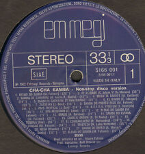 VARIOUS - Cha-Cha Samba - Non Stop Disco Version By Bravo - Emmegi