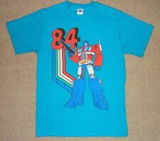 Transformers Since 84 Optimus Prime Shirt Small Licensed