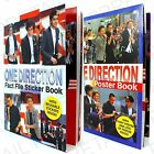 ★1 D ON STAGE★FACT FILE STICKER OR POSTER BOOK Fans/Gift/Present★ONE DIRECTION★