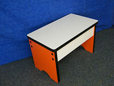 Small Play Table for sitting on the floor Preschool Bench Step Stool