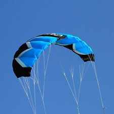 2M² Quad Line Blue Power / Trainer Stunt Kite / Parafoil Parachute Kite
