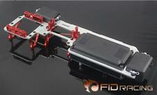 Fid dual servo radio tray for Losi 5IVE T rc car toy free shipping silver.red