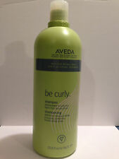 Aveda  Be Curly Shampoo 33.8oz / 1 Liter  Brand New****Sale