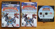 SD Gundam Force: Showdown  PS2 NTSC U/C ★ complet ★ envoi gratuit.protégé.suivi