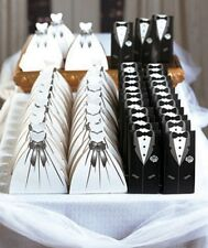 Wedding Suit & Dress 50-Pc. Favor Boxes. Guest Gift Bags Favors for the Big Day.