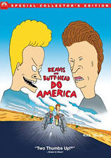 BEAVIS -- BUTTHEAD DO AMERICA SPECIAL COLLECTORS EDITION - DVD - REGION 2 UK