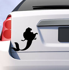 Little mermaid ariel princess car sticker decal Disney cartoon child