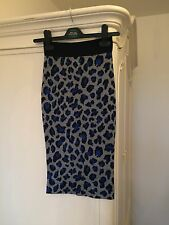 Pinko Pencil Wool Skirt Size UK 6 RRP £180 PERFECT CONDITION