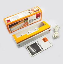 SHG Folienschweißautomat Type FS645 - Vintage - orange - Folienschweißgerät