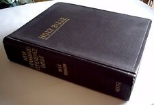 HERTEL BLUE RIBBON NEW STANDARD REFERENCE HOLY BIBLE, 1951 COPYRIGHT.  CLEAN