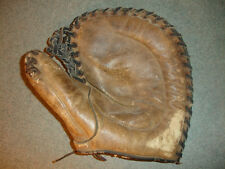 Old Vtg Antique Collectible First 1st Baseman Baseball Glove Mitt