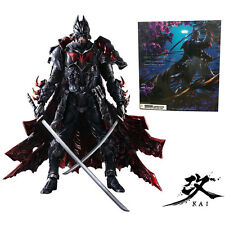 Play Arts KAI Batman Timeless Bushido PVC Action Figures Statue Model Comics Toy