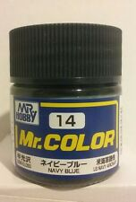 Gunze Sangyo/Mr Hobby acrylic paint. C-14 Navy blue, 10ml