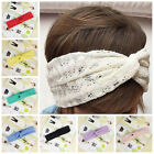 Baby Girls'/Kids' Cute Toddler Lace cross elastic band Turban Headband/Headwear