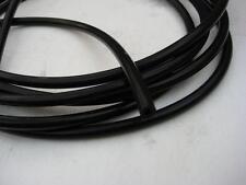 Conductive rubber tube - 2 Metres Tens Estim 6.5mm o/d x3.75mm i/d (8 Clips)