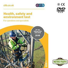 Bulgarian Health Safety & Environment Test 4 Operatives & Specialists CSCS Card