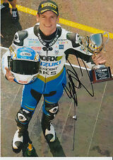 Tommy Hill Crescent Suzuki Hand Signed 7x5 Photo BSB 22.