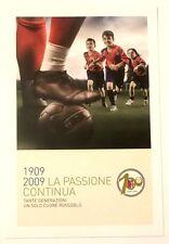 Cartolina Centenario Bologna Calcio 1909-2009 - La Passione Continua