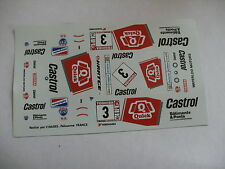 ancien decals decalcomanie bmw m3 formule procar 91    1/43