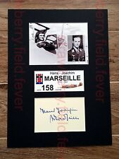 HANS JOACHIM MARSEILLE signed autograph PHOTO DISPLAY