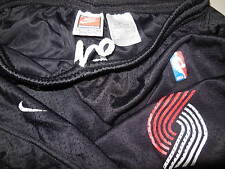 Nike Portland Trailblazers Athletic Shorts Basketball Blazers Black Mens Small