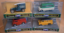 CORGI CLASSIC MODELS VANS - Diecast - Mint - Boxed - Job lot of 4 - Check pics !