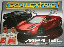 Scalextric - C3171A Mclaren MP4-12C Twinpack Lewis Hamilton Jenson Button - NEW