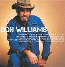 DON WILLIAMS - ICON rare Classic Country music cd 12 songs