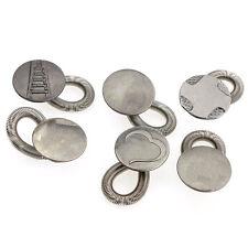 U 6PCS Men/Women Jeans Pants Instant Fix Expanders Waist Extender Metal Button