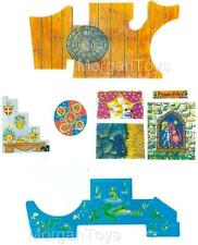 VINTAGE LITTLE PEOPLE FISHER-PRICE CASTLE 993 REPLACEMENT LITHOS STICKERS DECALS
