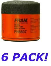 New Oil Filters 6 Lot FRAM PH6607 Engine Motor Car Truck Mower Cycle