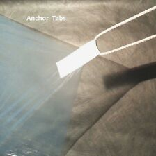 6 UL Tyvek Anchor Loops for Polycryo Ground Cloth Sheets & Tent Footprints
