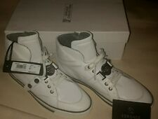 Versace Collection Shoes Medusa Luxury High-Top Casual Sneakers Off White 9