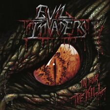 Evil Invaders - In For the Kill CD 2016 digi speed metal Belgium Napalm Records