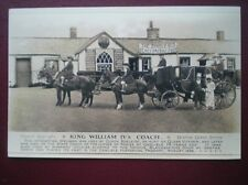 POSTCARD DUMFRIESSHIRE GRETNA GREEN - KING WILLIAM IV'S COACH