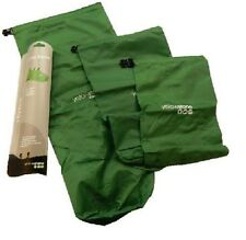 YELLOWSTONE CAMPING DRY SACKS WEATHER RESISTANT SET OF 3 - 2L 4L 8L
