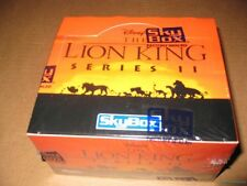 Lion King Series 2 Trading Card Box