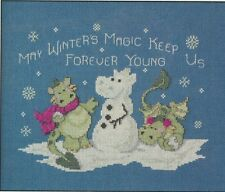 Cross-Stitch - Snowball Fight Ptn - 0131