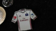 Nuevo: HSV hamburgo sv camiseta pin badge Home 2016/17 Fly Emirates