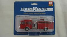 Walthers/Boley SceneMaster HO Heavy Duty Fire Dept. Ladder Truck #949-13801