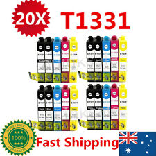 20x T133 T1331 Ink Cartridges For Epson NX 125 130 230 420 430 WF320 325 435 525