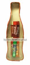 LIP SMACKER 7pc Balm Set SWEET KISSES Bottle Shaped Tin Container COCA COLA