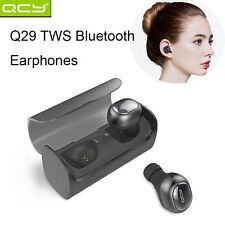 CHEAP Wireless Earbud QCY Q29 Mini Dual Bluetooth Headphones Headset w/ Charging