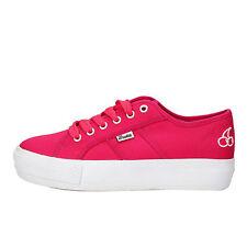 scarpe donna FRUTTA 40 sneakers fucsia tela AF645-C1