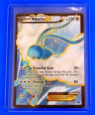 Pokemon Altaria EX 123/124 - XY FATES COLLIDE - ULTRA RARE FULL ART CARD