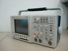TEKTRONIX TDS 3012 TWO CHANNEL COLOR DIGITAL PHOSPHOR OSCILLOSCOPE, WORKING